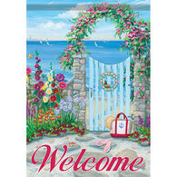 Carson Home Accents Flagtrends Coastal Gate Garden Flag