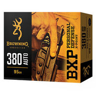 Browning BXP Personal Defense 45 Auto 230 Grain X-Point JHP Handgun Ammo (20)