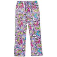 Candy Pink Girl's Rainbow Carnival Pajama Pant