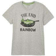 Hatley Little Blue House Men's End Of The Rainbow Sleep Short-Sleeve T-Shirt