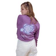 Shelly Cove Men's & Women's Bubble Mandala Long-Sleeve T-Shirt