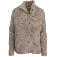 Woolrich Women's By The Fire Shetland Wool Cardigan Sweater