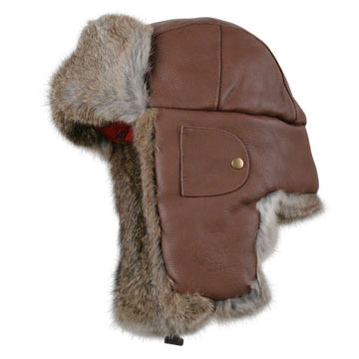 7bea2d069dc30 Mad Bomber Mens Leather Fur Trim Bomber Hat. ×. Mad ...