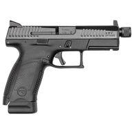 """CZ-USA CZ P-10 C Suppressor-Ready 9mm 4.61"""" 15-Round Pistol"""