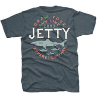 Jetty Life Men's Chomped Short-Sleeve T-Shirt