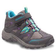 Merrell Girls' Hilltop Mid Waterproof Hiking Boot