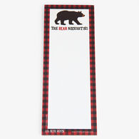 Hatley Little Blue House The Bear Necessities Magnetic List Notepad