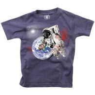 Wes And Willy Boy's Astronaut Short-Sleeve T-Shirt