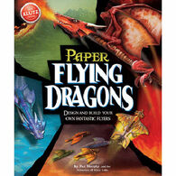 Klutz Paper Flying Dragons Craft Kit by Pat Murphy & The Scientists of Klutz