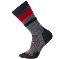 SmartWool Men's PhD Outdoor Striped Medium Cushion Crew Sock - Special Purchase
