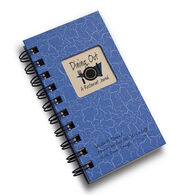 "Journals Unlimited ""Write it Down!"" Mini-Size Dining Out Journal - Blue"