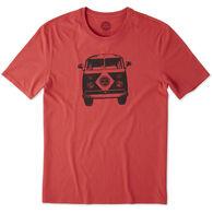 Life is Good Men's Retro Van Smooth Short-Sleeve Sleep T-Shirt
