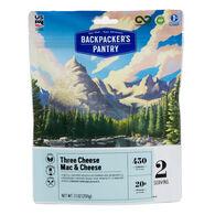Backpacker's Pantry Three Cheese Mac & Cheese - 2 Servings