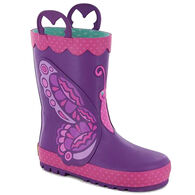 Western Chief Girls' Betty Butterfly Rain Boot