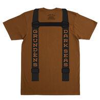 Dark Seas Men's Suspenders Short-Sleeve T-Shirt