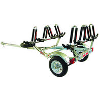 Malone Auto Racks MicroSport Four Kayak Trailer Package - Unassembled