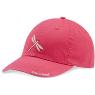 Life is Good Women's Sketched Dragonfly Chill Cap