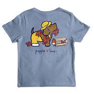 Puppie Love Boy's Lobster Pup Short-Sleeve T-Shirt
