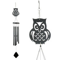 Red Carpet Studios Owl Shadow Wind Chime