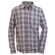 Purnell Men's Fraley Reverse Plaid Flannel Long-Sleeve Shirt