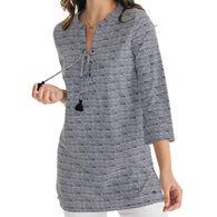 Southern Tide Women's Haley Intercoastal Long-Sleeve Tunic Top