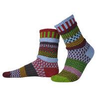 Solmate Socks Women's Elderberry Crew Sock