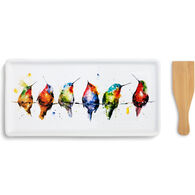 Big Sky Carvers Hummers on a Wire Appetizer Tray with Spatula Set