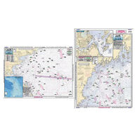 Captain Segull Gulf of Maine, Massachusetts Bay Offshore Chart