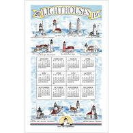 Kay Dee Designs 2019 Lighthouses Calendar Towel
