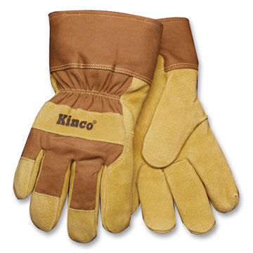 Kinco Mens Suede Pigskin Work Gloves