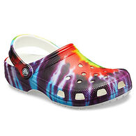 Crocs Women's Classic Tie-Dye Graphic Clogs