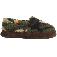 Acorn Boys' & Girls' Camo Moc Slipper