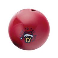 Life is Good Large Santa Rocket Ball Dog Toy