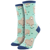 Socksmith Design Women's Wool Be Friends Crew Sock