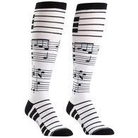 Sock It To Me Women's Foot Notes Sock