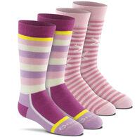 Fox River Mills Girl's Snow Day Sock, 2-Pack