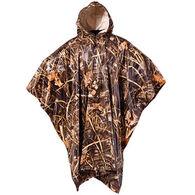 Onyx Men's PVC Camouflage Rain Poncho