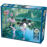 Outset Media Jigsaw Puzzle - Iris Cove Loons