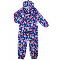Candy Pink Girl's Galaxy Food Pajama Onesie