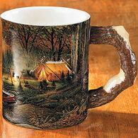 Wild Wings Evening Solitude Sculpted Coffee Mug