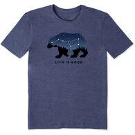 Life is Good Men's Ursa Major Bear Cool Tee Short-Sleeve T-Shirt
