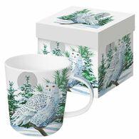 Paperproducts Design Snow Owl Mug