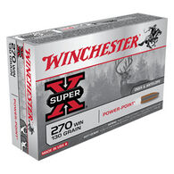Winchester Super-X 270 Winchester 130 Grain Power-Point Rifle Ammo (20)