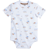 Carhartt Infant Boy's Fishing Print Short-Sleeve Bodyshirt