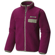 Columbia Girl's Mountain Side Heavyweight Full-Zip Fleece Jacket