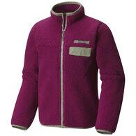 Columbia Girl's Mountain Side Heavyweight Full-Zip Fleece Jacket