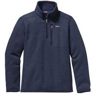 98fa0ccbd7539 Patagonia Boys' Better Sweater 1/4 Zip Fleece Pullover