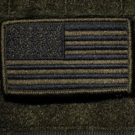 Nine Line Apparel OD Green American Flag Patch