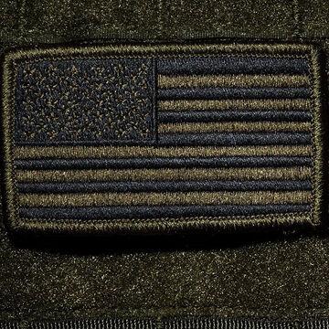 Nine Line Apparel OD Green American Flag Patch