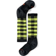 SmartWool Boys' & Girls' Wintersport Buff Check Sock